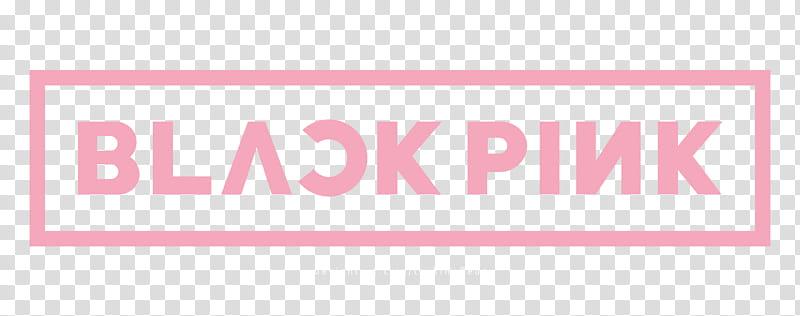 BLACKPINK Logo, Black Pink logo transparent background PNG.