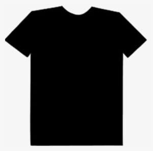Plain Black T Shirt Front And Back Png.