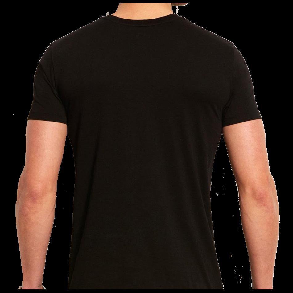 HD Blank Black Shirt Png.
