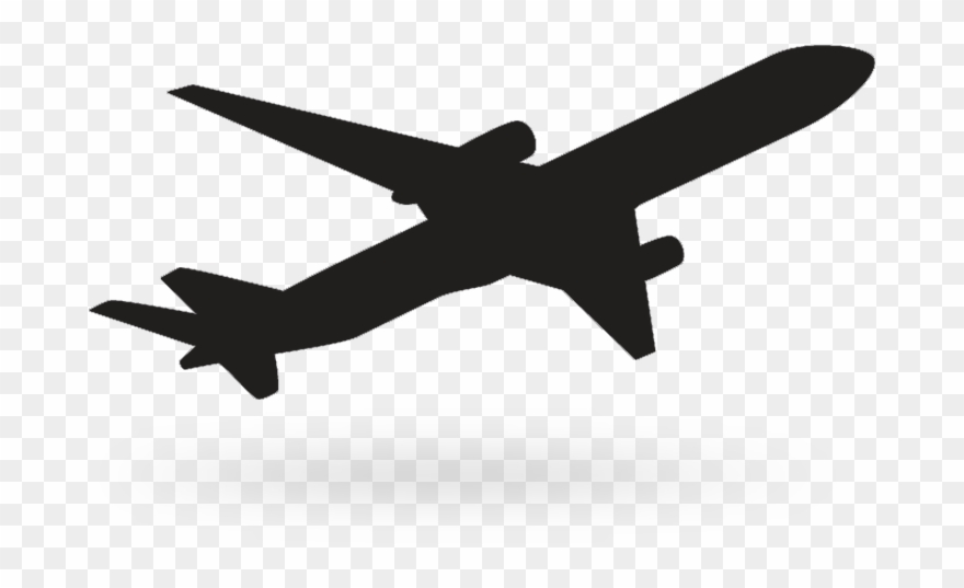 Black Background Airplane Icon Vector Free Vector In.