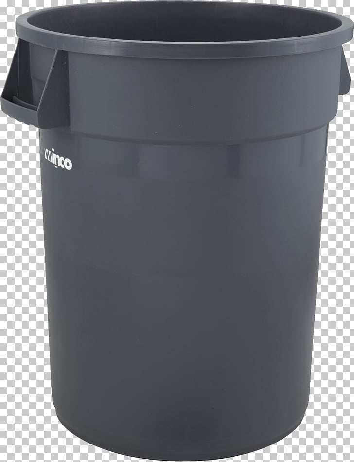 Waste container Plastic, Trash can PNG clipart.