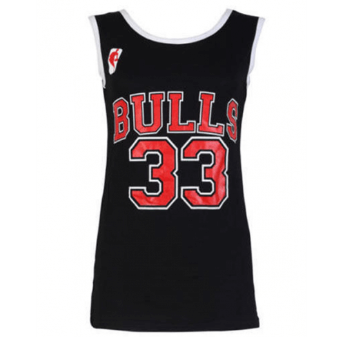 Ladies Bulls 33 Varsity American Basketball Vest T.