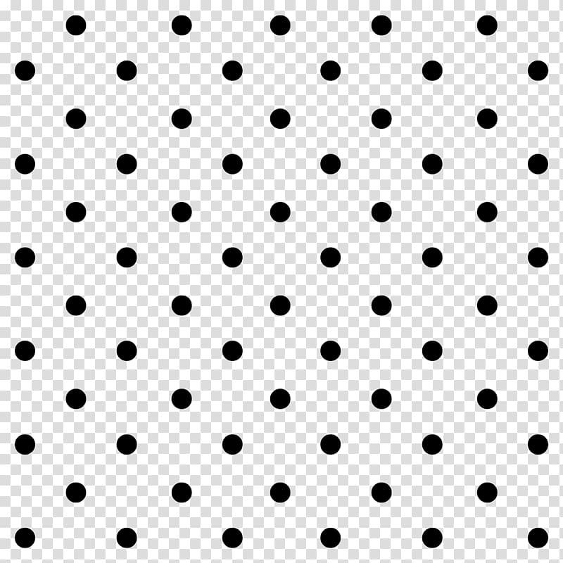 Minnie Mouse Polka dot Stencil, column transparent.