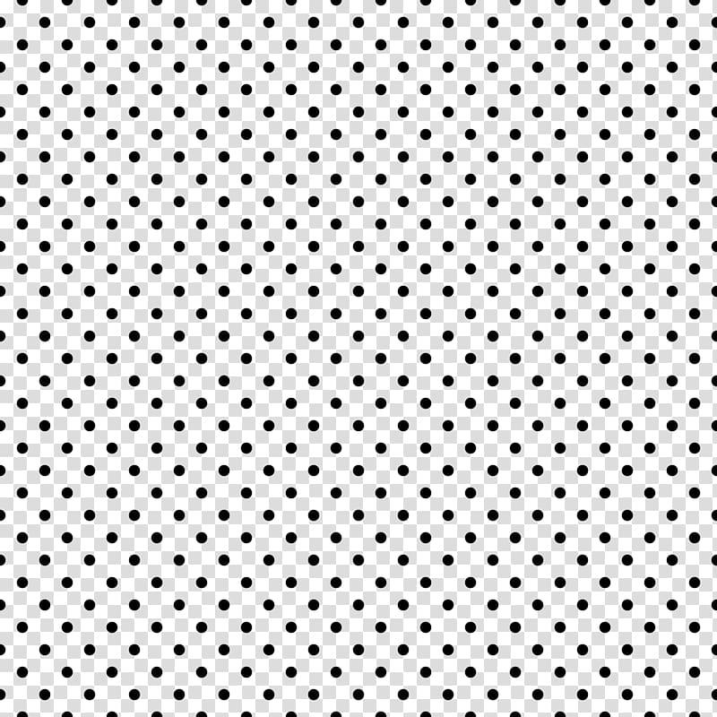 Bead Braid Mosaic Polka dot Area, black and white polka dot.