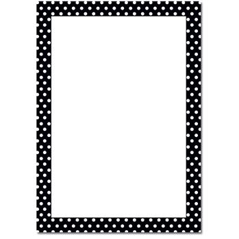 Free Polka Dot Border, Download Free Clip Art, Free Clip Art.