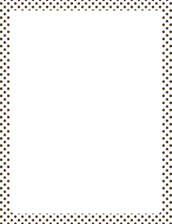 Free Black And White Polka Dot Border, Download Free Clip.