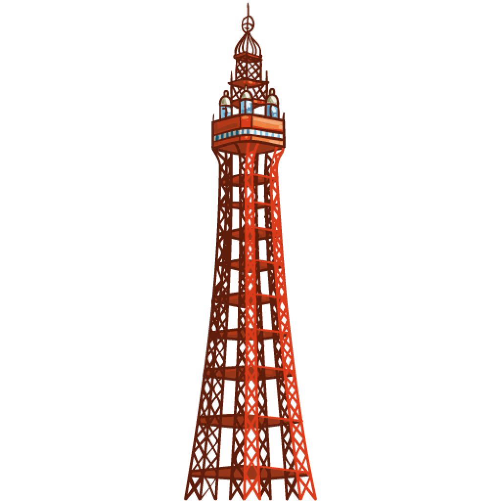 Blackpool clipart.