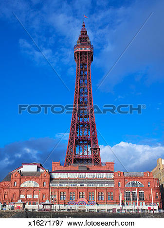 Picture of England, Lancashire, Blackpool Tower x16271797.