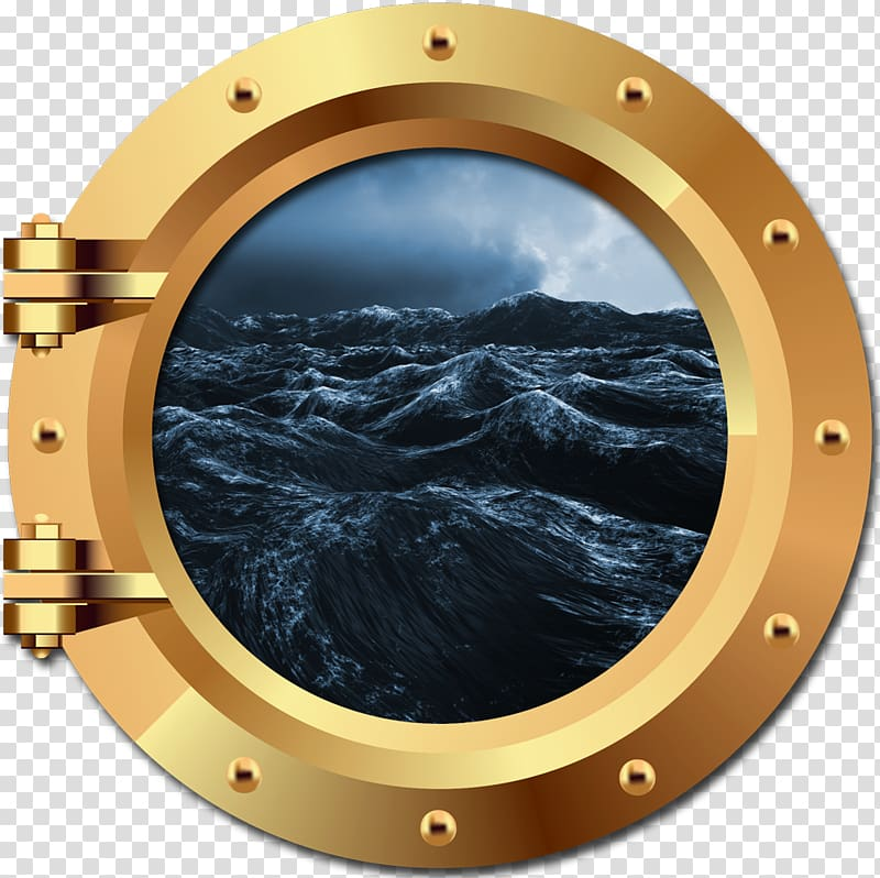 Porthole The Seas That Mourn Ship Brass, Ship transparent.