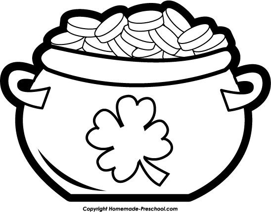 Black pot clipart - Clipground