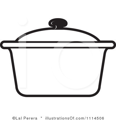Black Pot Clipart.