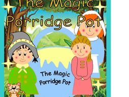 The Magic Porridge Pot Masks Puppets Story Sack Resources.