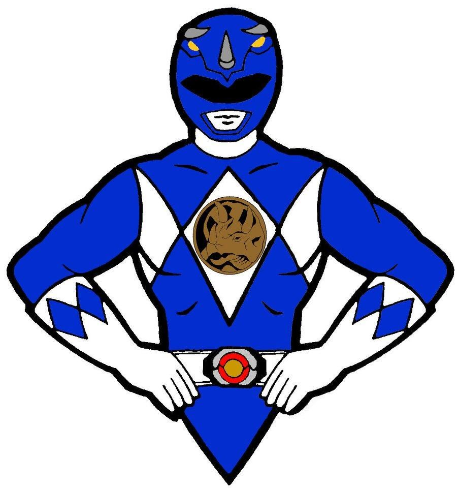 power ranger blue in 2019.