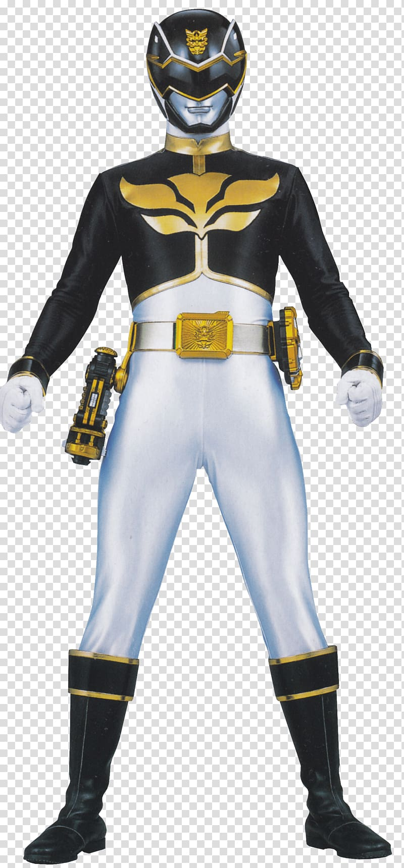 Power Ranger Black Ranger, Megaforce Black transparent.