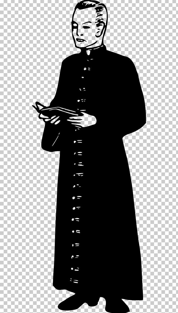 Pastor Clergy Priest 神父 Minister PNG, Clipart, Black And.