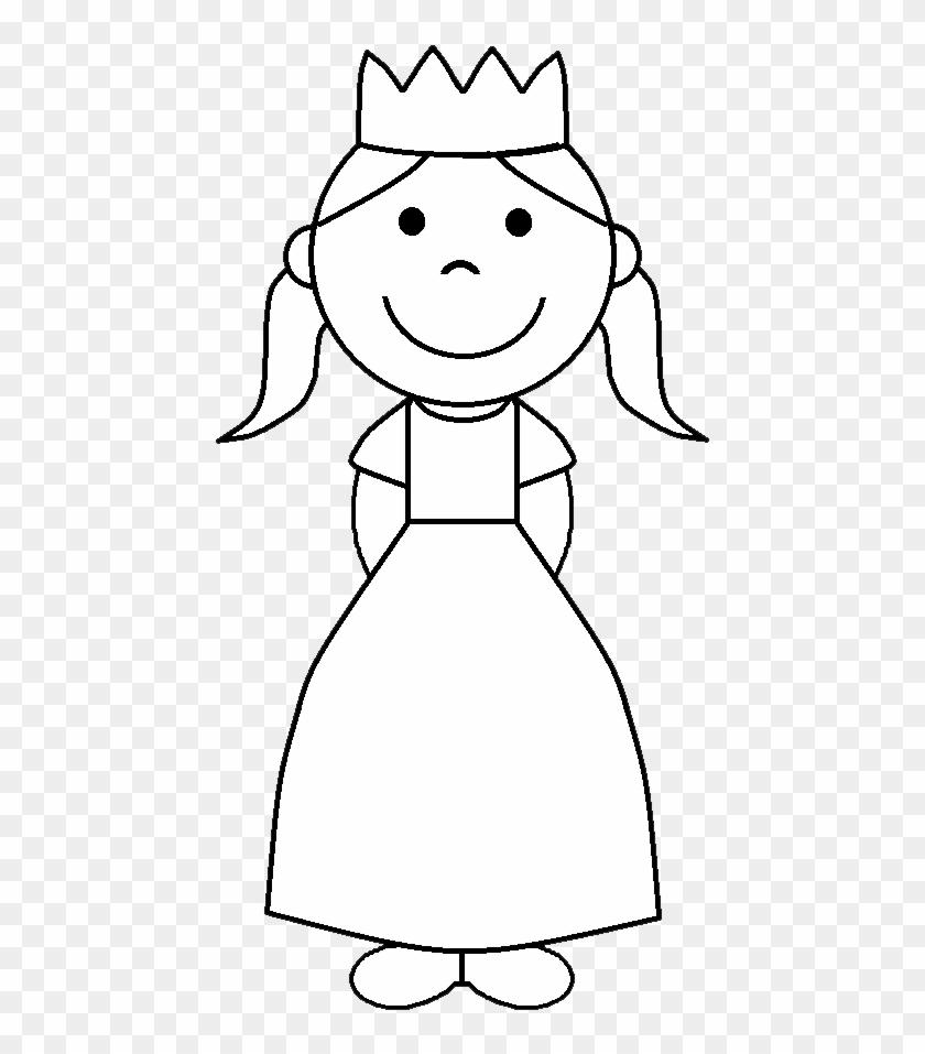 Black Princess Crown Clip Art Black And White Angel.