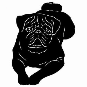 Free Black Pug Cliparts, Download Free Clip Art, Free Clip Art on.