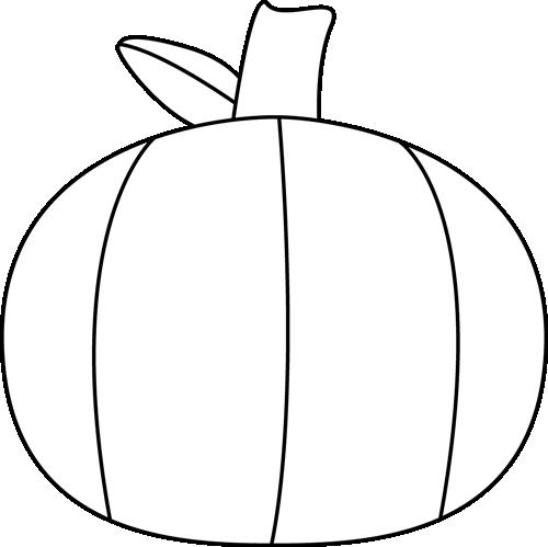 pumpkin monogram clipart black and white - Clipground