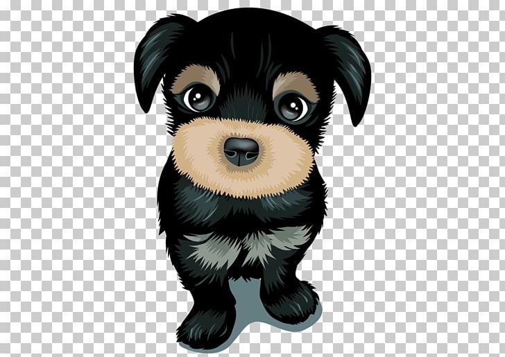 Dog Moe Cuteness Cartoon, Cute puppy dog cartoon , black.