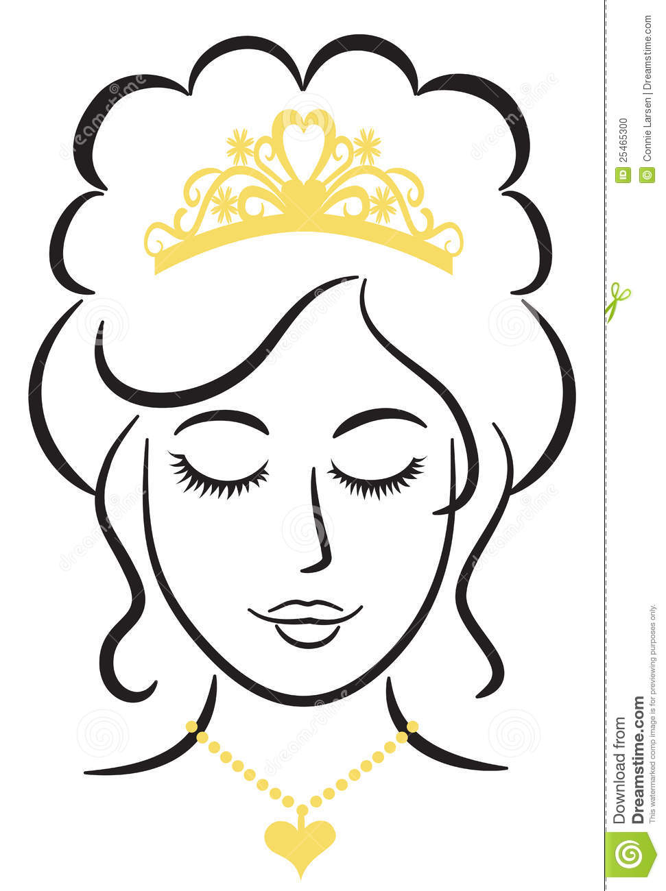 Queen Clipart Black And White.