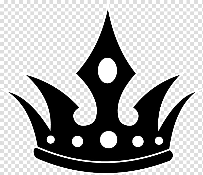 Black crown illustration, Crown of Queen Elizabeth The Queen.