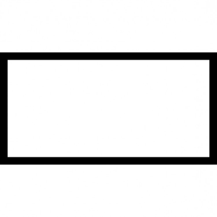 1012 Rectangle free clipart.