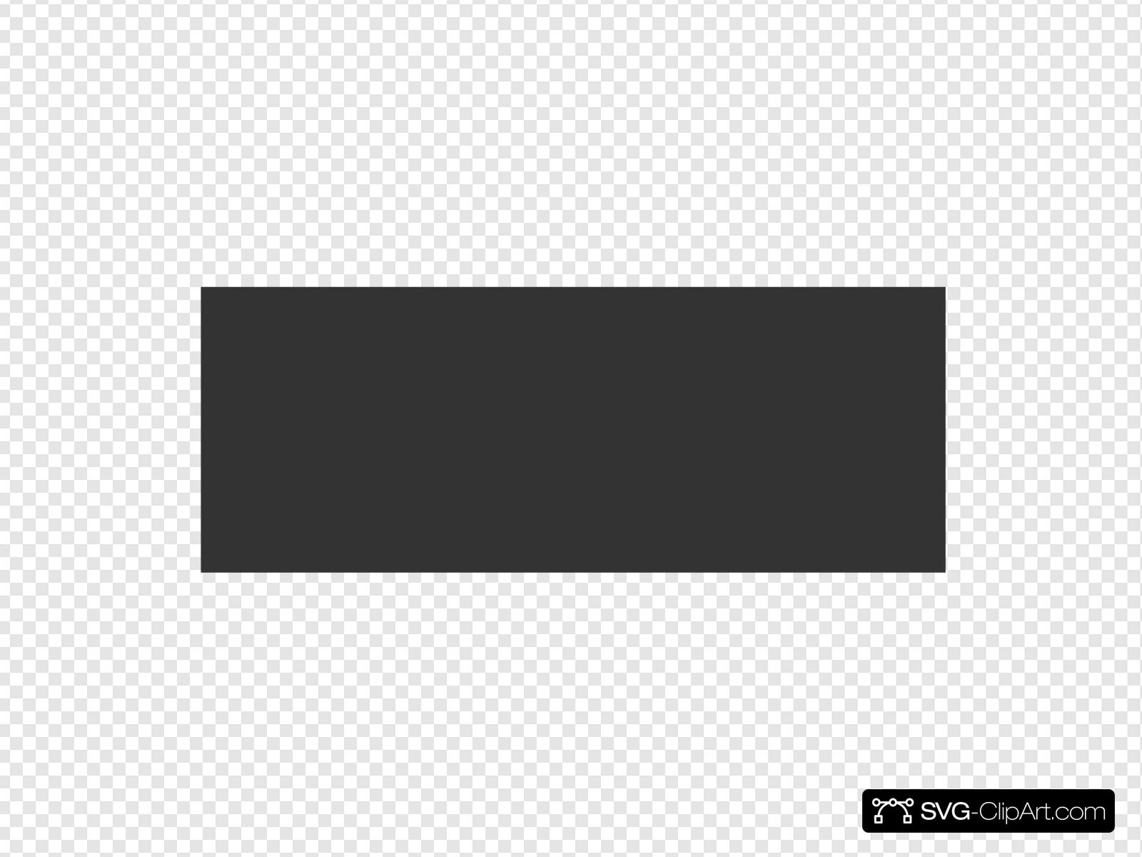 Black Rectangle Clip art, Icon and SVG.