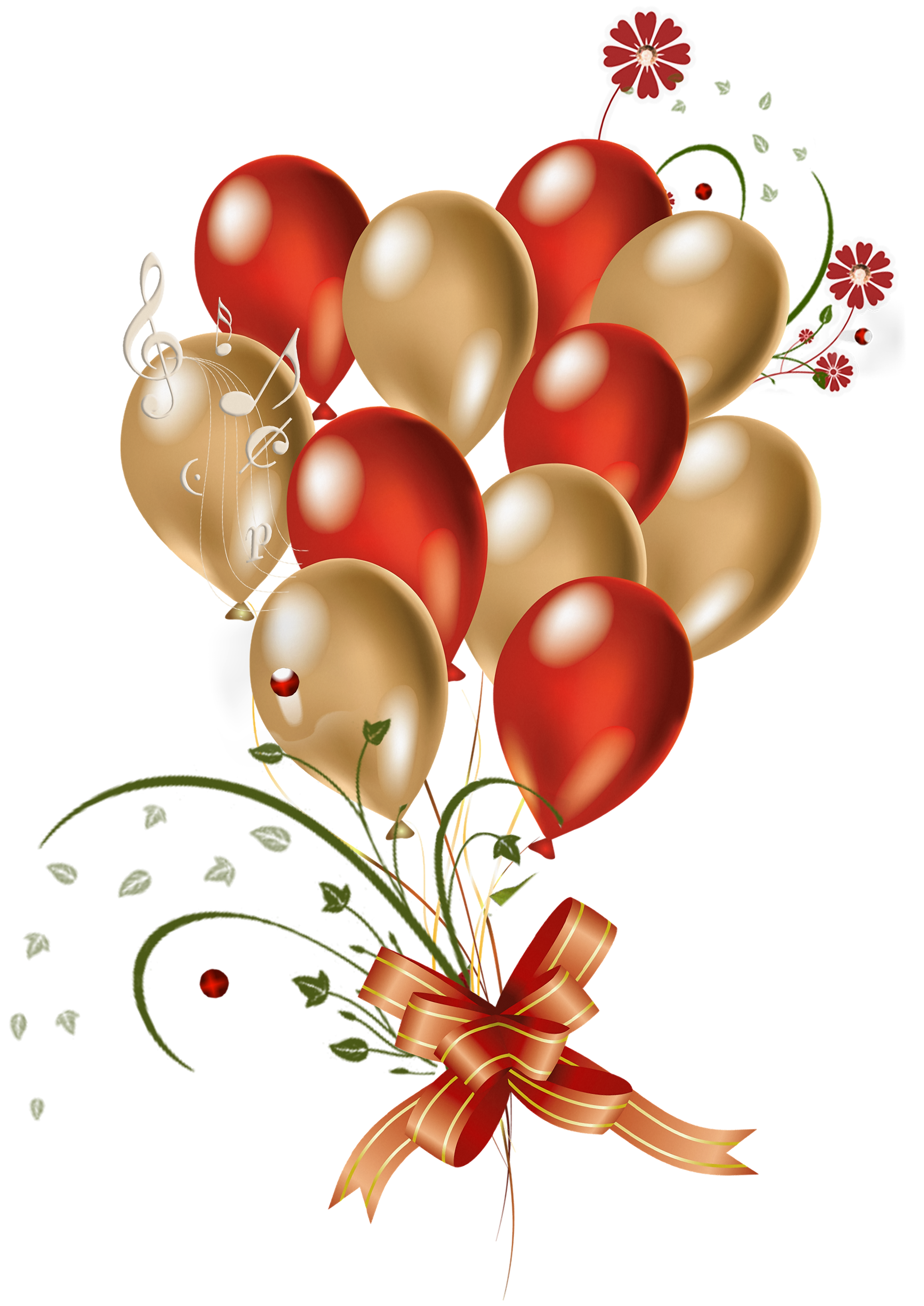 Red And Gold Clipart.