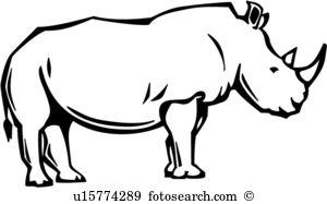 Rhino Clip Art Illustrations. 2,541 rhino clipart EPS vector.