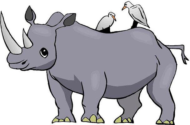 Rhino Clip Art & Rhino Clip Art Clip Art Images.