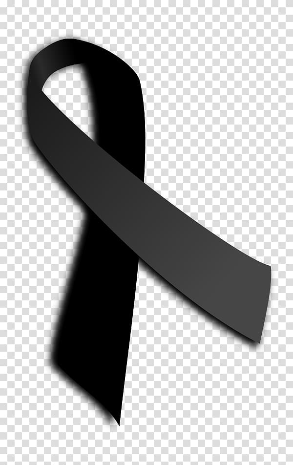 Black Ribbon Movement Myanmar Mourning , ribbon transparent.