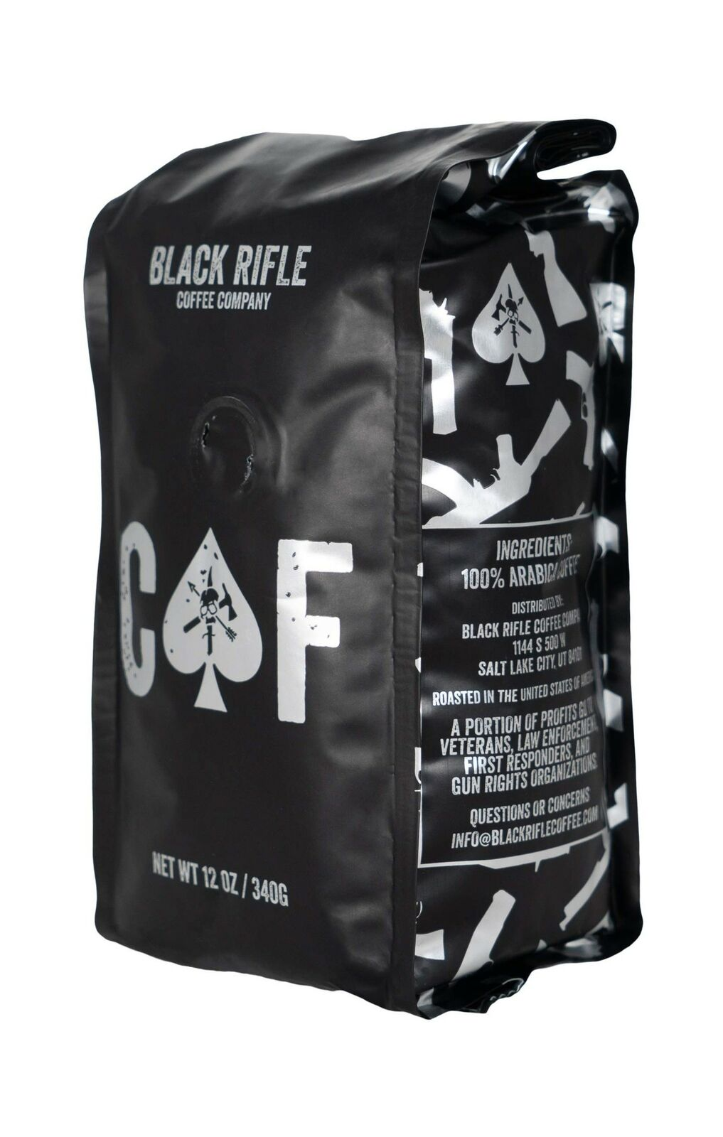 Black Rifle Coffee Company, CAF Blend, Medium Roast Ground.