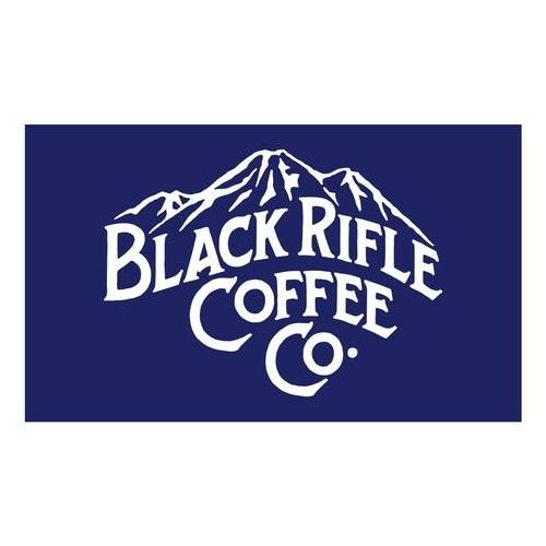 Black Rifle Mountain Logo Sticker.
