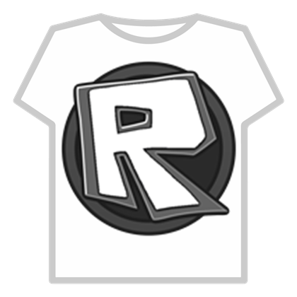 Black ROBLOX Logo.