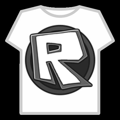 Black ROBLOX Logo.