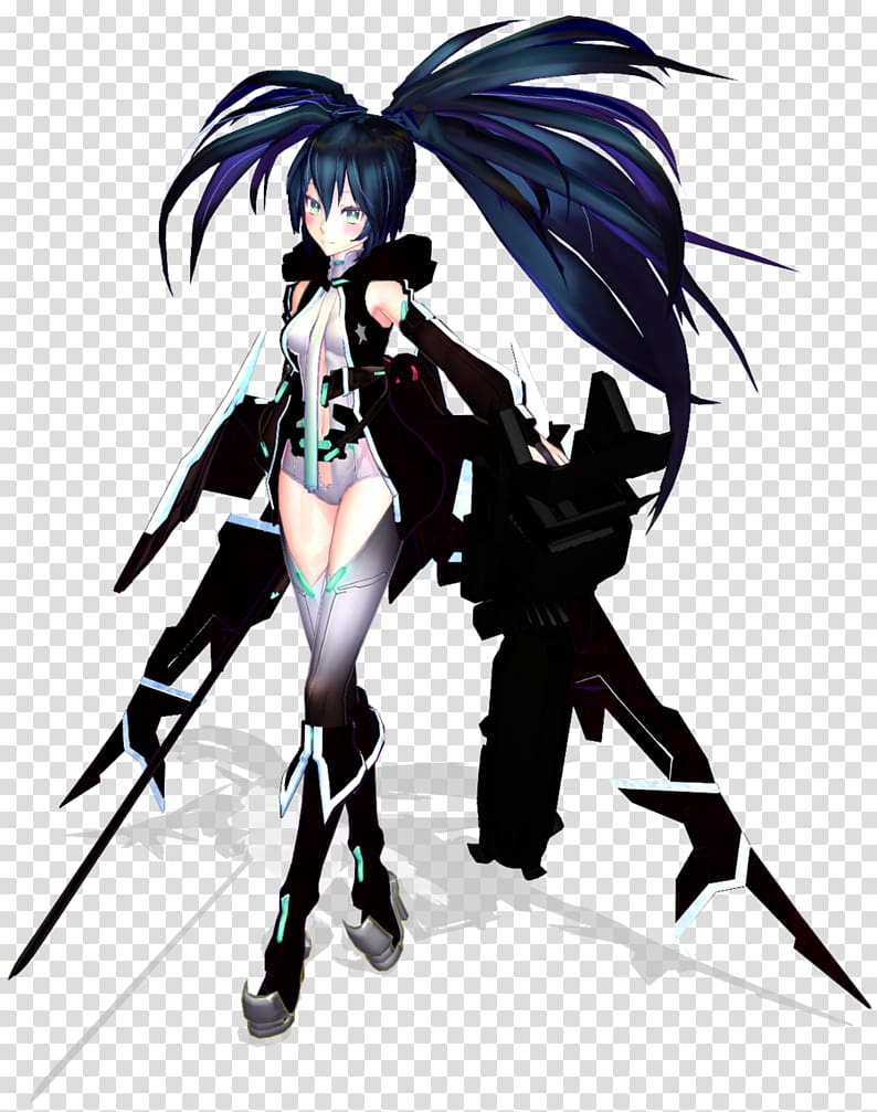 Black Rock Shooter: The Game Anime Hatsune Miku Character.