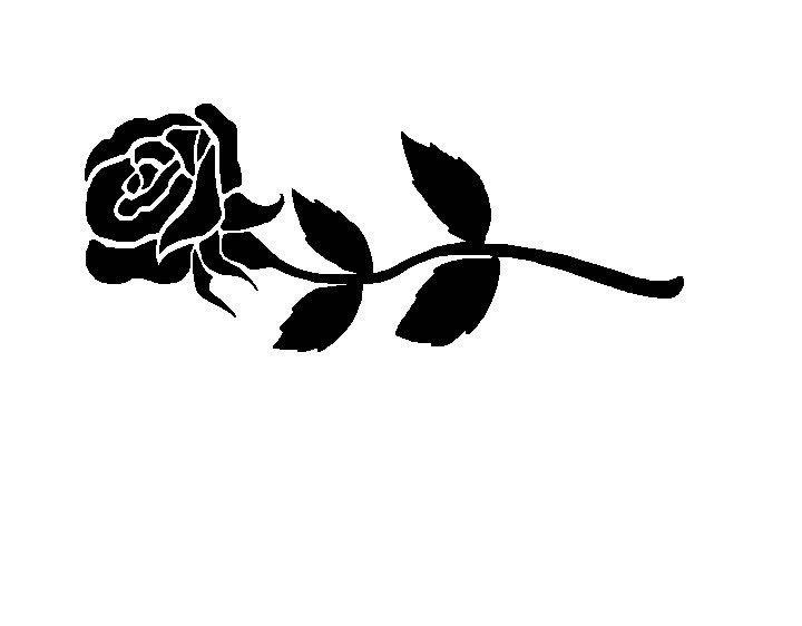 Black Rose Clip Art Free.