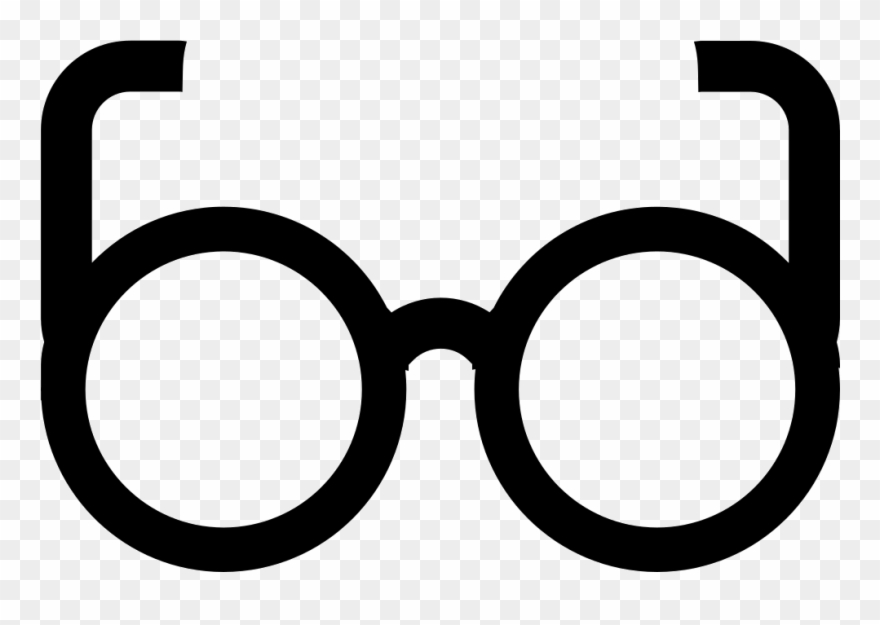 Round Glasses Png Clipart (#3415309).