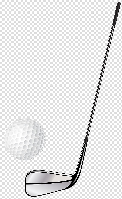 Golf Clubs Golf Balls , stick transparent background PNG.