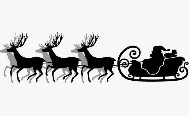 Black And White Santa Claus Png & Free Black And White Santa Claus.