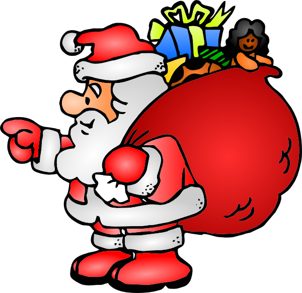 Free Picture Of A Black Santa Claus, Download Free Clip Art.