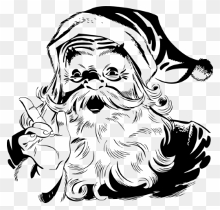 Free PNG Black Santa Claus Clip Art Download.