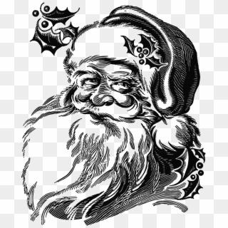 Free Black Santa PNG Images.