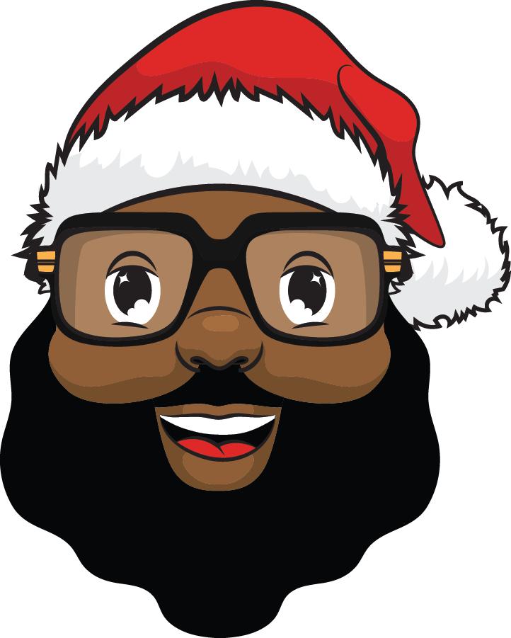 Black Santa.