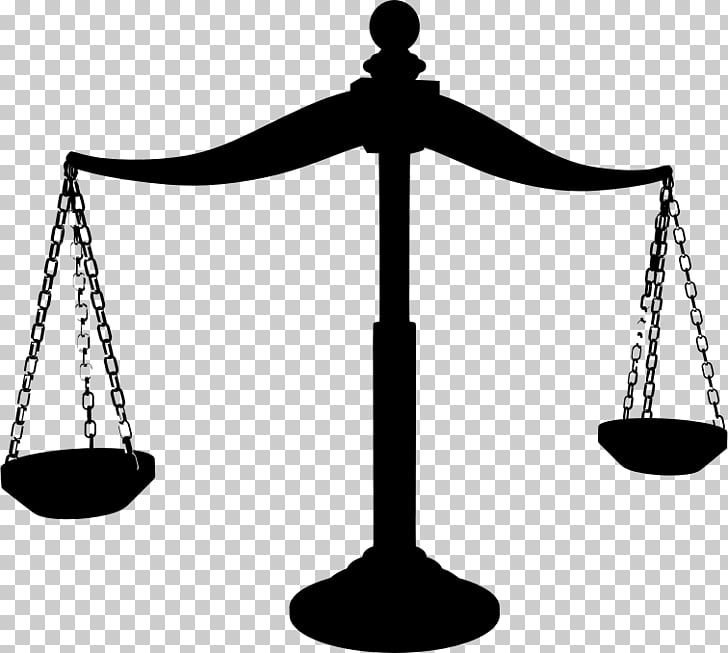 Measuring Scales Justice Silhouette , Brass PNG clipart.