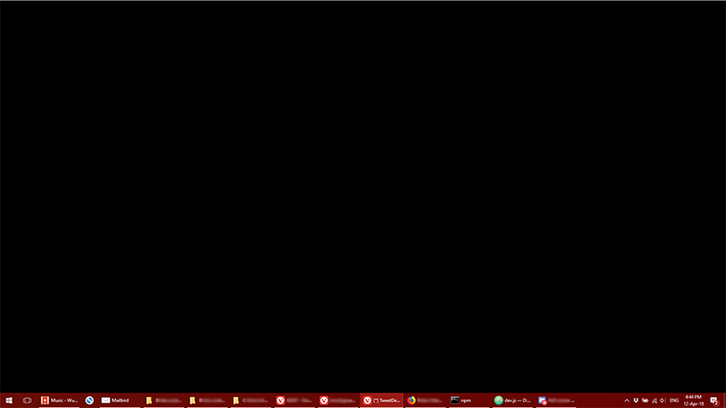 Opening certain videos from thumbnails causes black screen, then all.