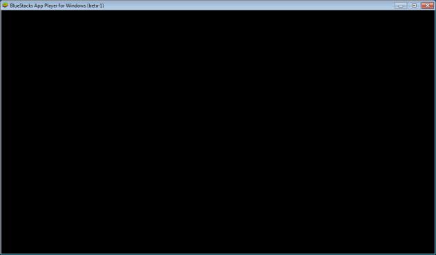 Bluestack Black Screen Problem Resolved.