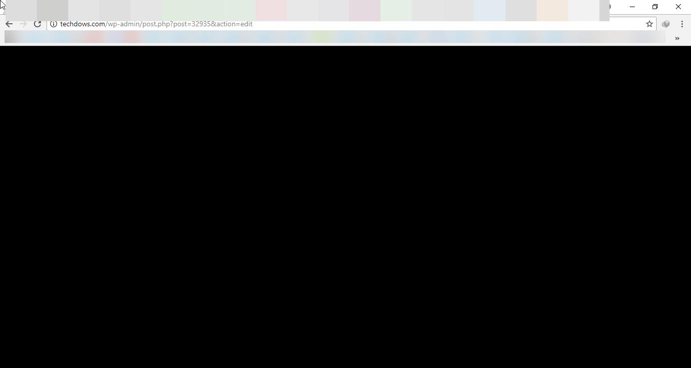 Fix Chrome shows black Screen when minimized or maximized.