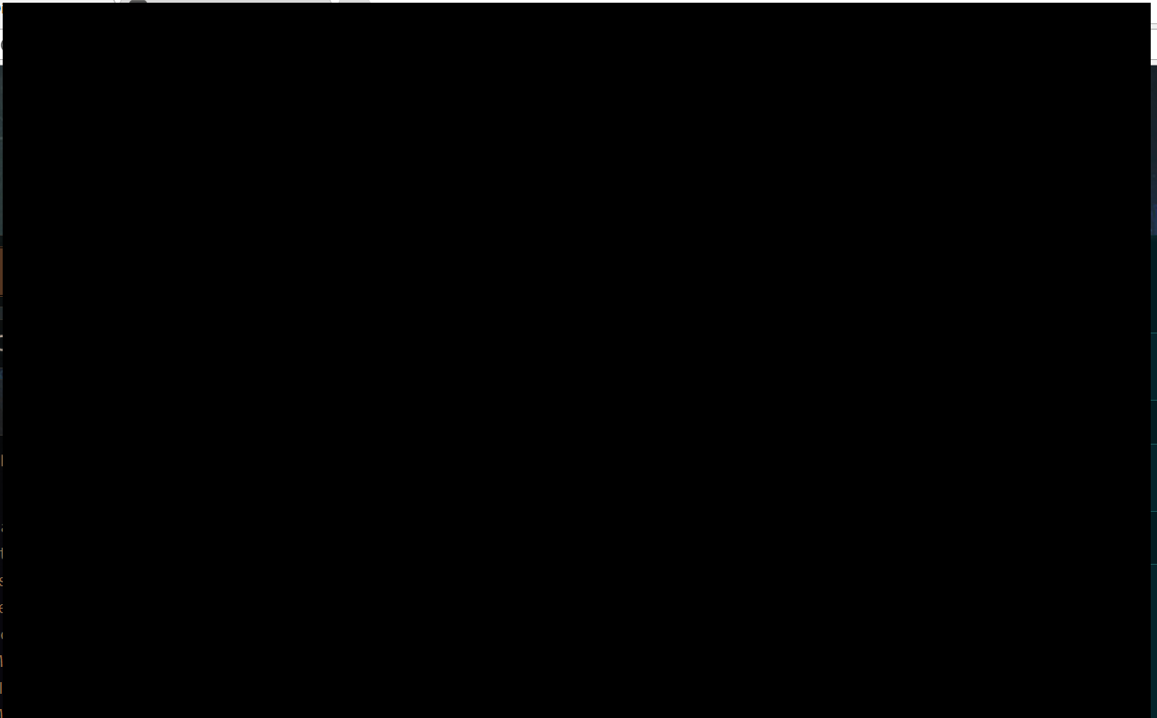 black screen after game ends.