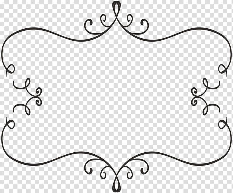 Freebie Decorative Elements, black scroll boarder.